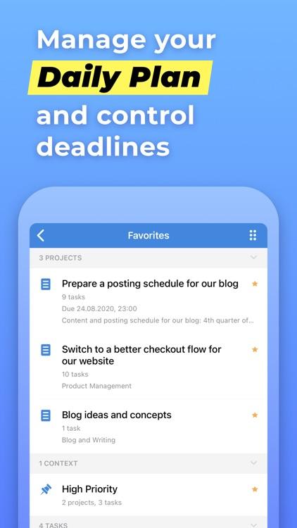 Chaos Control™: GTD Task List screenshot-4