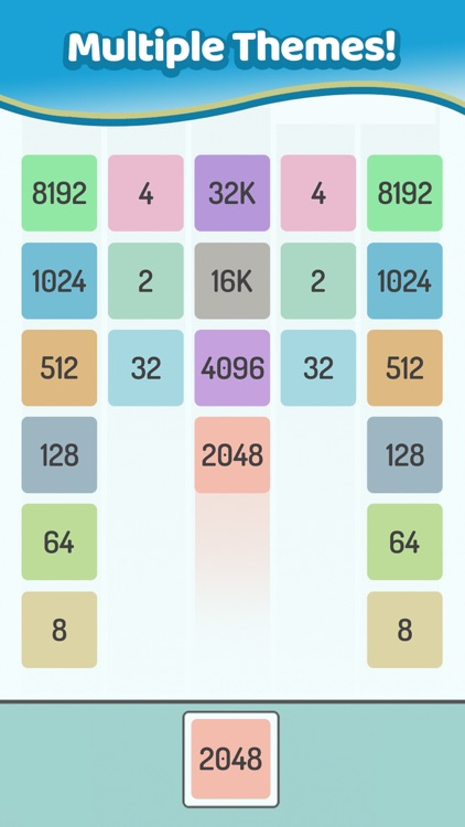 X2 Blocks - Merge Puzzle 2048 screenshot-6