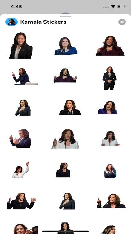 Kamala Harris 2020 Stickers screenshot-4