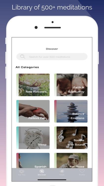 MediMind: Meditation Therapy screenshot-3