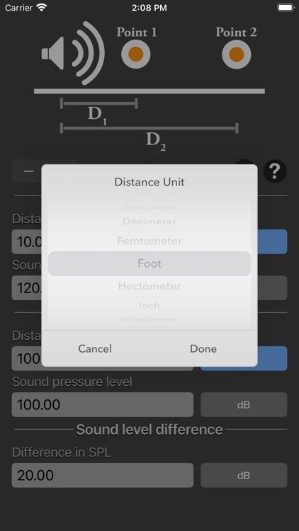 Distance Attenuation Calc screenshot-8