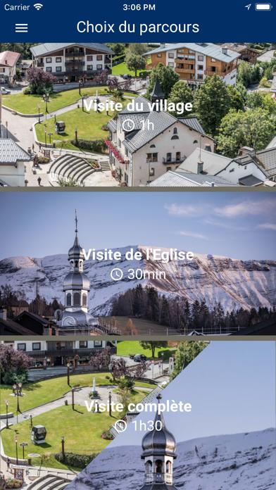 Megève. Itinéraires découverte screenshot 2