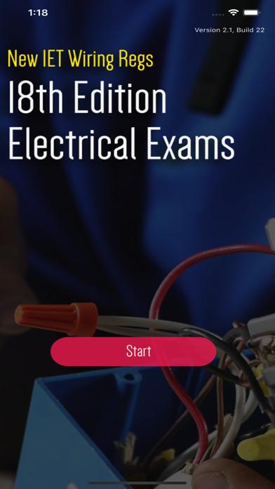 18th Edition Wiring Exam Q&A screenshot 1