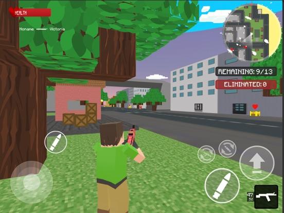 Ipad Screen Shot World Craft Battle Royale 0