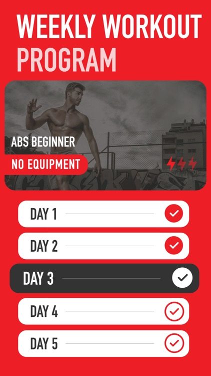 Ultimate ABS Workout screenshot-3