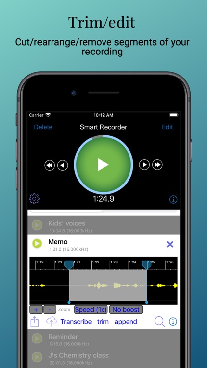 Smart Recorder Transcriber AF screenshot-4