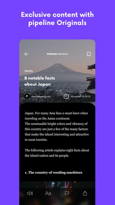 pipeline: AI based magazineScreenshot of 10