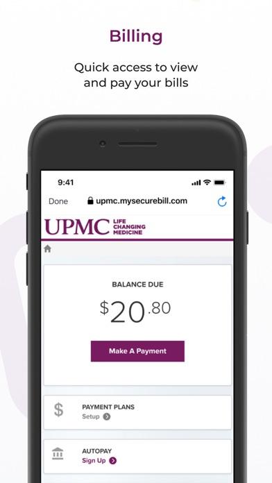 messages.download MyUPMC software