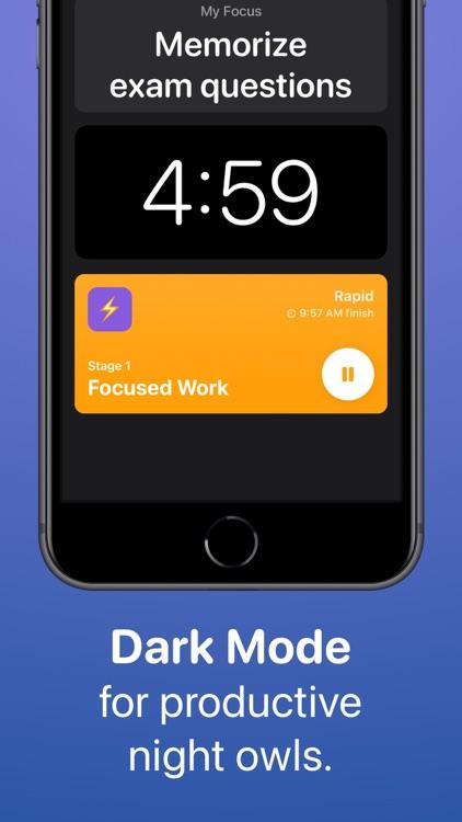 Focused Work: Focus Timer screenshot-4