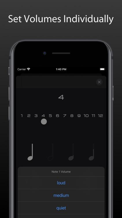Metronome Touch screenshot-7