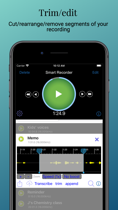 Smart Recorder and transcriber på PC