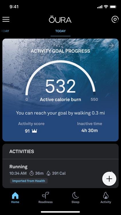 Oura screenshot-1