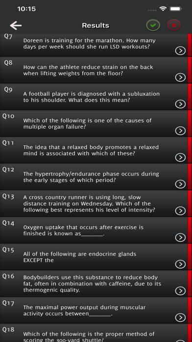CSCS Strength Exam Prep screenshot 3