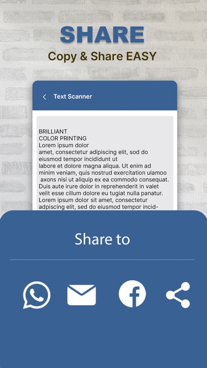 Text Scanner : Image to text screenshot-3
