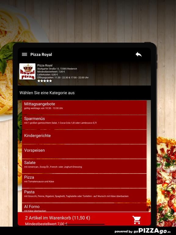 Pizza Royal Riederich screenshot 8