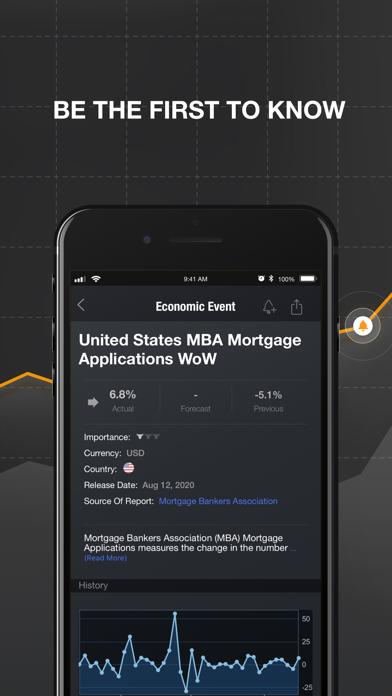 Investing.com Stocks & Finance Screenshot