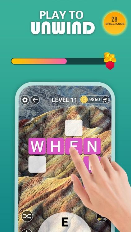 Word Scenery: Crossword puzzle screenshot-3