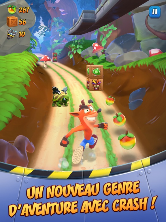 Crash Bandicoot: On the Run!