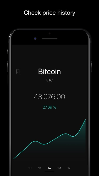 Crypton - BTC Crypto Tracker screenshot-1