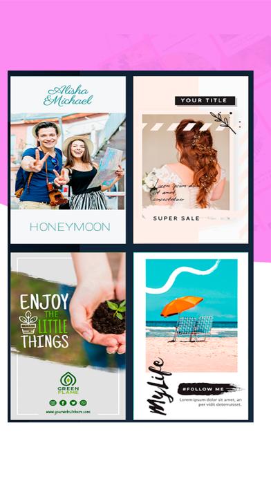 Скриншот №5 к StoryArt-Шаблоны для инстаграм