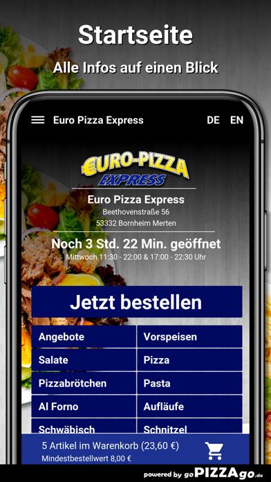 Euro Pizza Bornheim Merten screenshot 2
