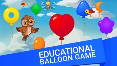 Balloon Pop Education for Kids screenshot 1