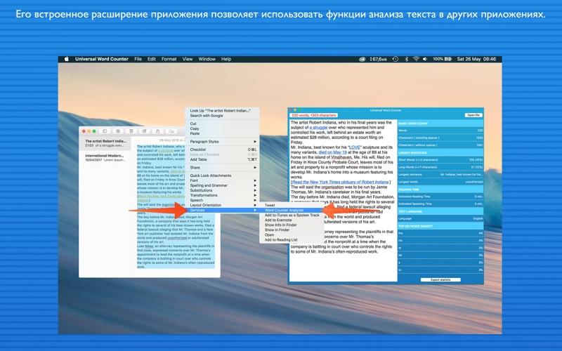 Universal Word Counter скриншот программы 3