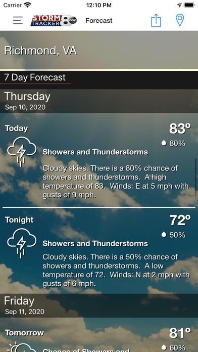 WRIC StormTracker 8 Weatherのおすすめ画像4