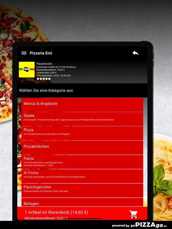 Pizzeria Emi Duisburg screenshot 8