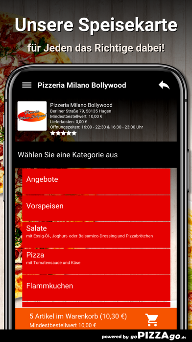 Milano Bollywood Hagen screenshot 4