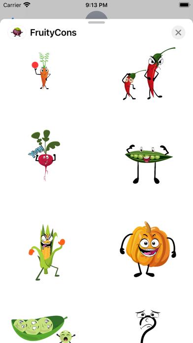 FruityCons screenshot 2