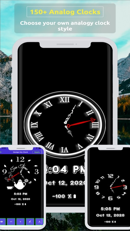 Analog Clock ~ Stand Face Time screenshot-2