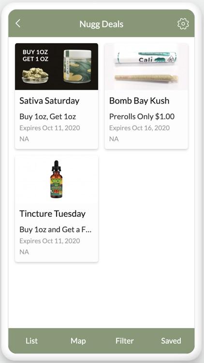 Nugg - Find Cannabis Deals