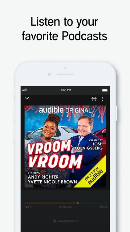 Audible audio books & podcasts screenshot-4