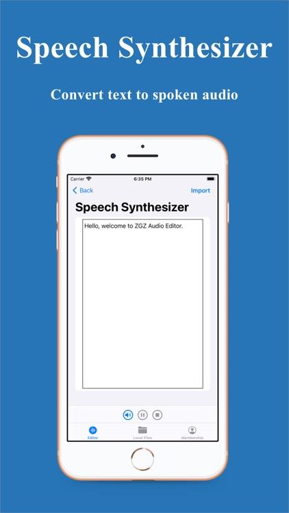ZGZ Audio Editor screenshot-7