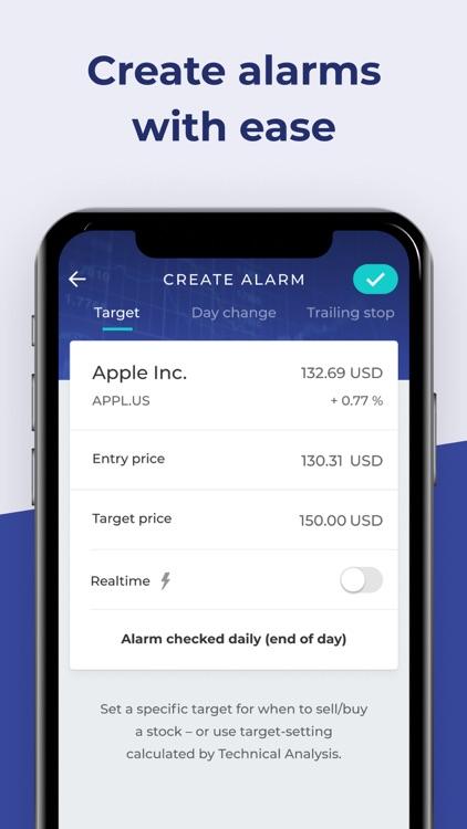 Stock Alert: Stocks tracker