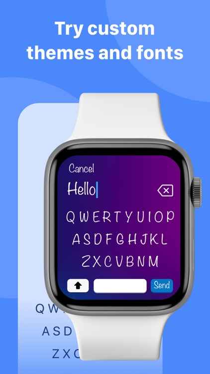 Type: Keyboard for Apple Watch screenshot-7