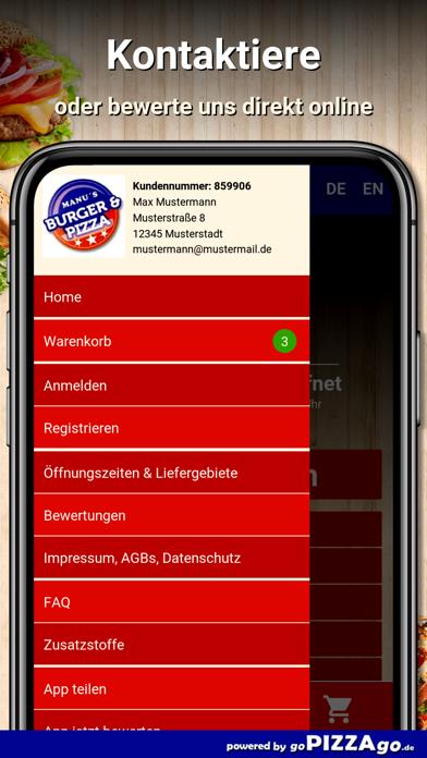 Manu Pizza Reutlingen screenshot 3