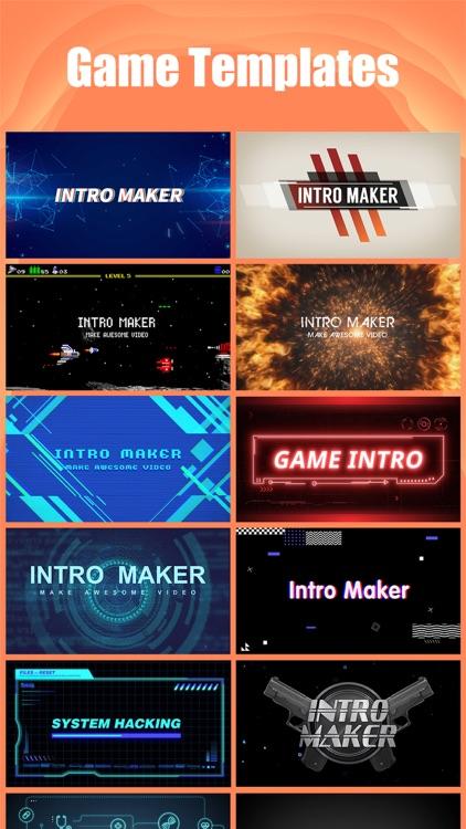Intro Maker- yt intro designer screenshot-6