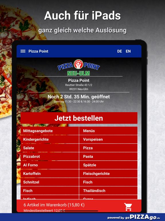 Point Neu-Ulm Pizza screenshot 7