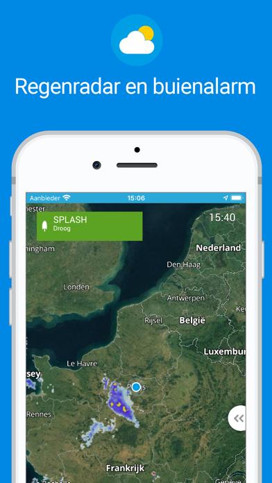 Weerplaza - complete weer app iPhone app afbeelding 2