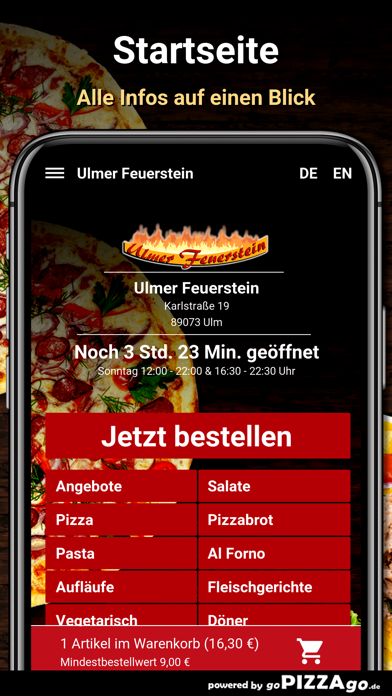 Ulmer Feuerstein Ulm screenshot 2