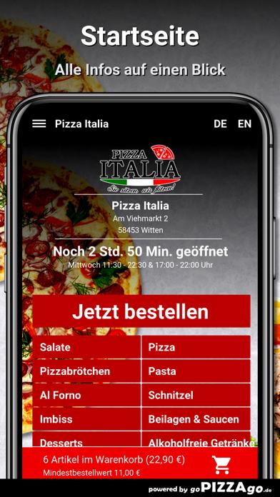 Pizza Italia Witten screenshot 2