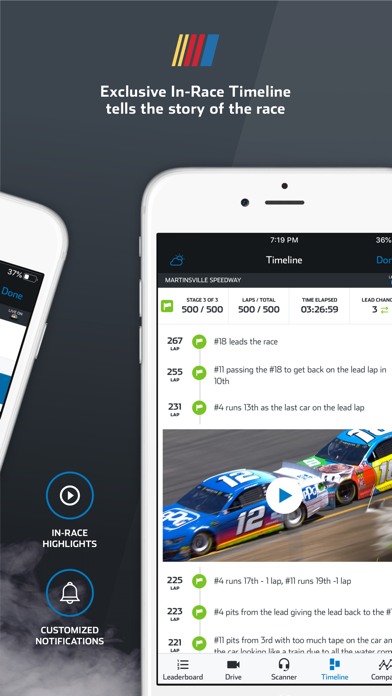 NASCAR MOBILE Screenshot