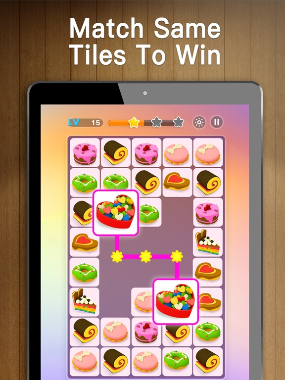 iPad Image of Onet 3D - Classic Link Puzzle