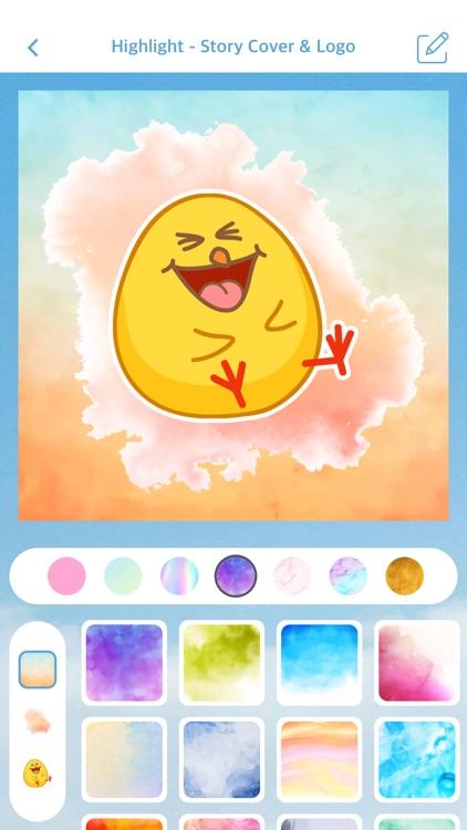 Highlight - Story Cover & Logo screenshot-3