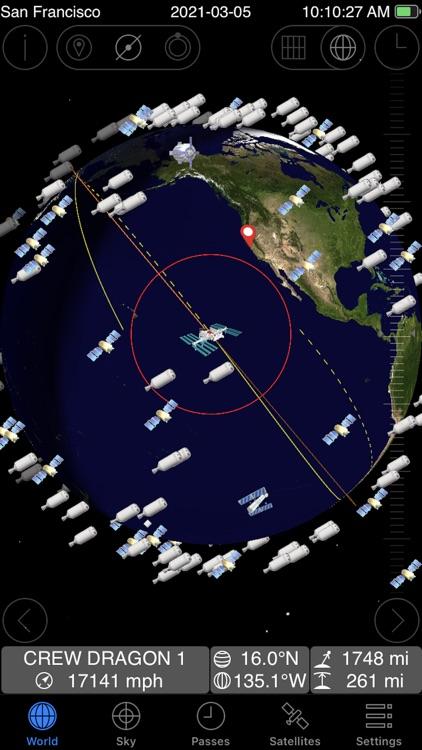 GoSatWatch Satellite Tracking screenshot-0