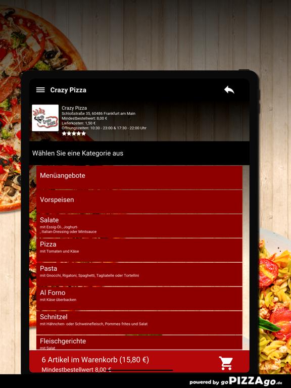 Crazy Pizza Frankfurt am Main screenshot 8