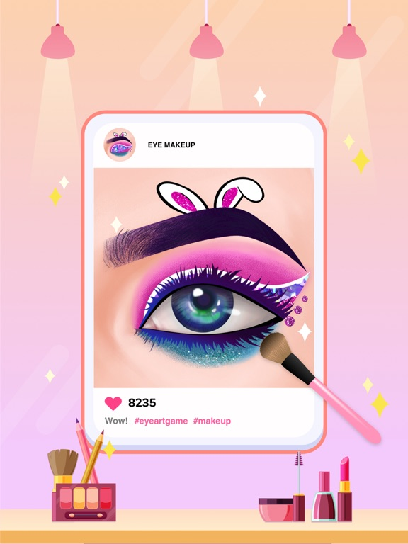 Eye Art: Perfect Makeup Artist screenshot 5