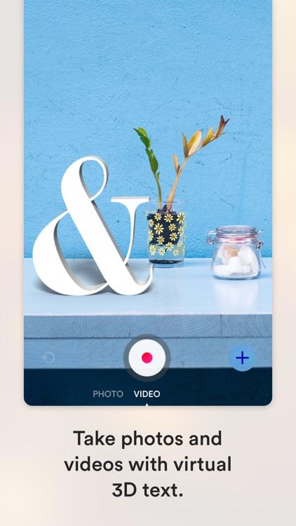 3D Text Camera: Words in AR screenshot-3